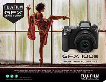 Fujifilm GFX 100S, au delà du plein format